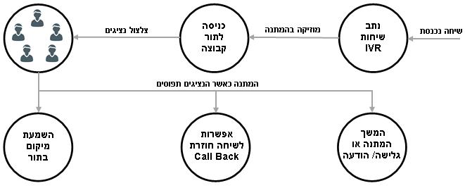 תרשים במערכת סדרת מרכזיות גרנסטרים